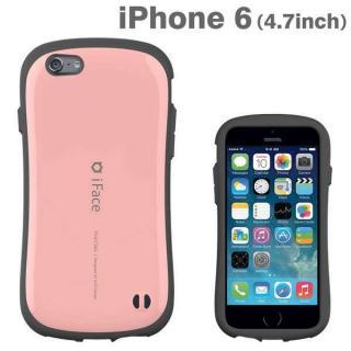 なめらかな曲線が手にフィット iface First Class ベビーピンク iPhone 6ケース