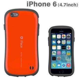 なめらかな曲線が手にフィット iface First Class オレンジ iPhone 6ケース