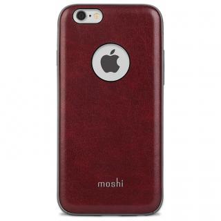 moshi iGlaze Napa ヴィーガンレザー レッド iPhone 6s/6
