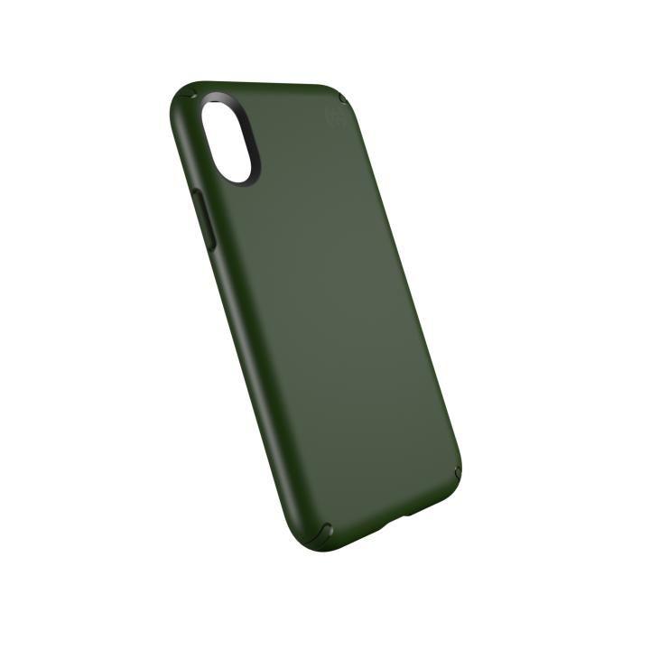 speck 耐衝撃ケース Presidio ダークグリーン iPhone X
