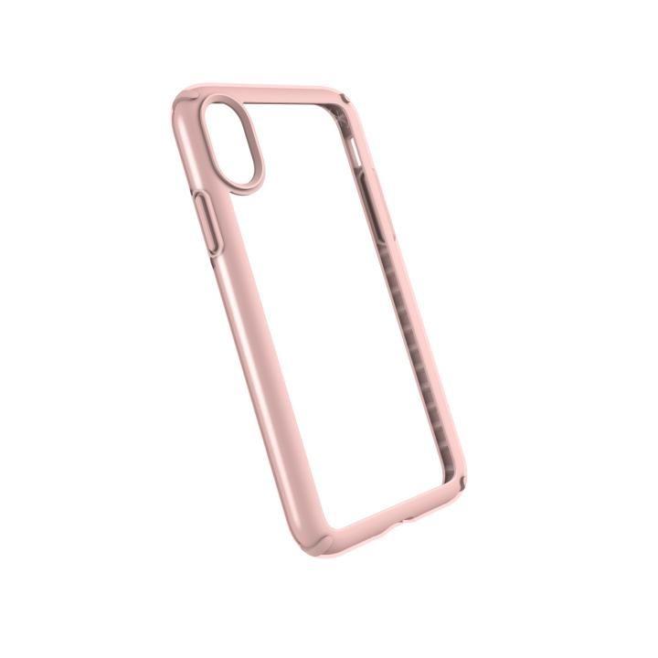 speck 耐衝撃クリアケース Presidio SHOW クリア/ローズゴールド iPhone X