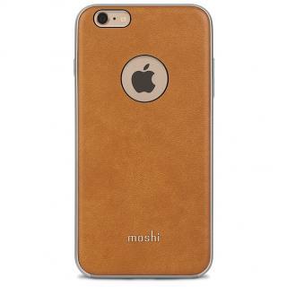 moshi iGlaze Napa ヴィーガンレザーケース ベージュ iPhone 6s Plus/6 Plus