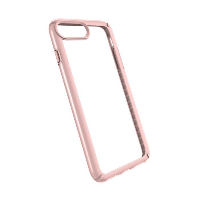 speck 耐衝撃クリアケース Presidio SHOW クリア/ローズゴールド iPhone 8 Plus