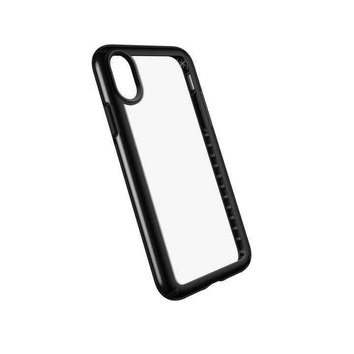 [2018新生活応援特価]speck 耐衝撃クリアケース Presidio SHOW クリア/ブラック iPhone X