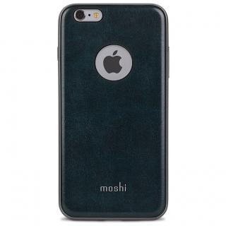 moshi iGlaze Napa ヴィーガンレザーケース ブルー iPhone 6s Plus/6 Plus