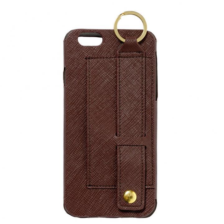 【iPhone6s/6ケース】多機能レザーケース mononoff ブラウン iPhone 6s/6ケース_0