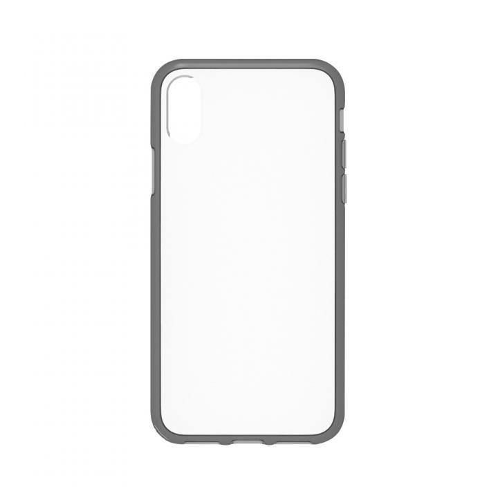 simplism ハイブリッドケース Turtle クリアブラック iPhone X