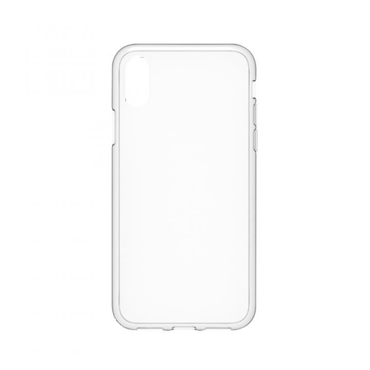 【iPhone Xケース】simplism ハイブリッドケース Turtle クリア iPhone X_0