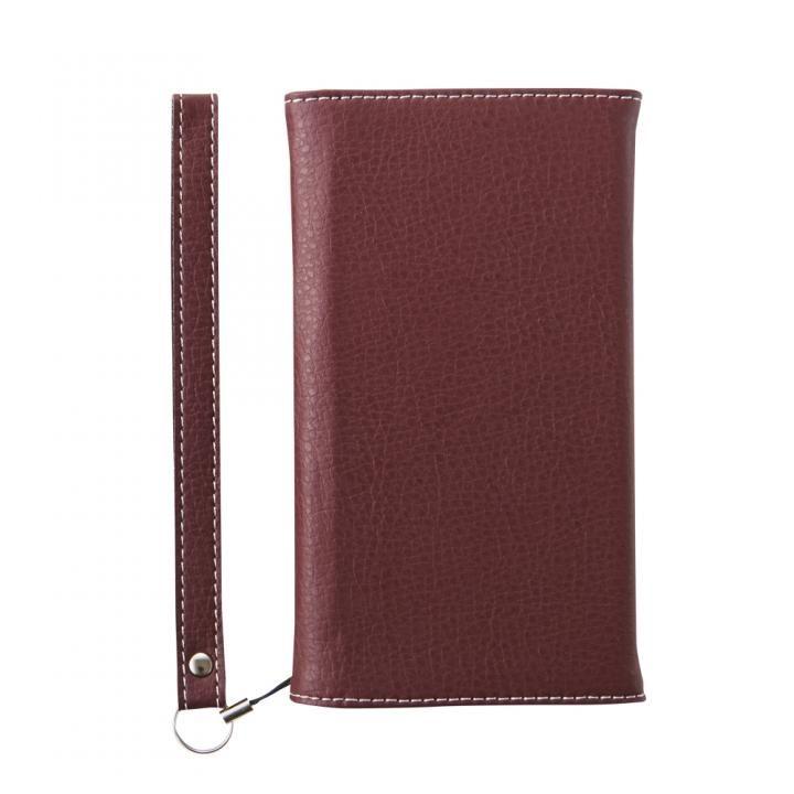 [2018新生活応援特価]simplism クラリーノ フリップノートカードケース BillFold シュリンクレッド iPhone X