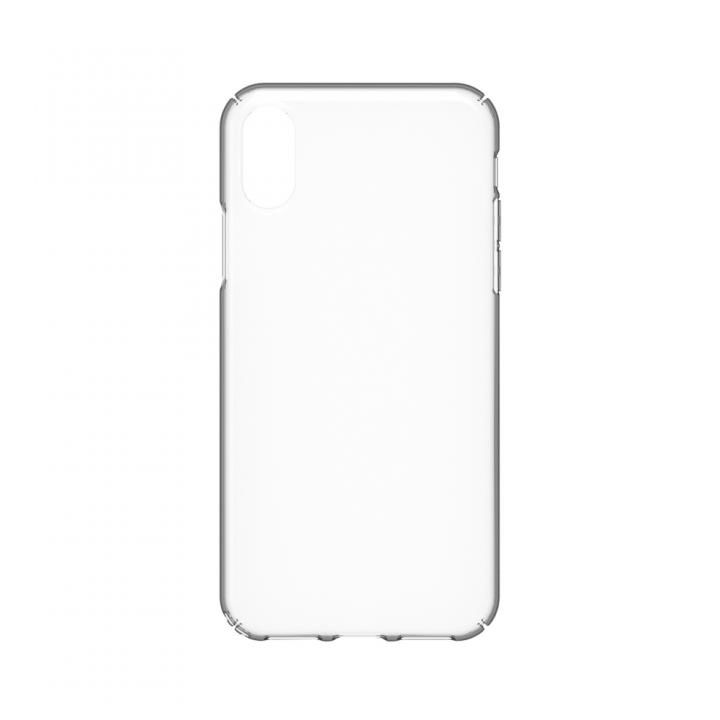 simplism キズ修復防指紋クリアケース Airly Repair クリア iPhone X