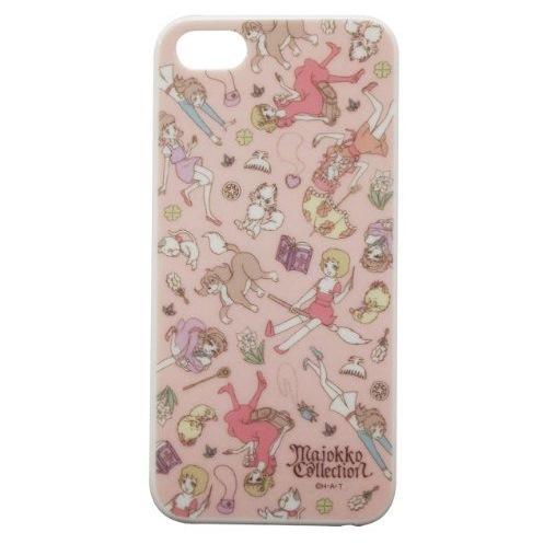 iPhone SE/5s/5 ケース 魔女っ子コレクション iPhone5専用 シェルジャケット ピンク_0