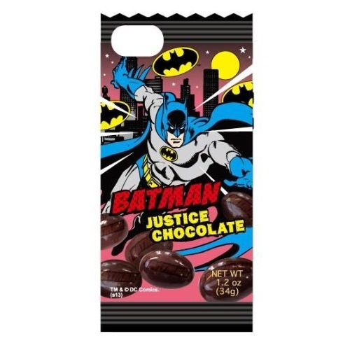 iPhone SE/5s/5 ケース バットマン スナックパッケージ ソフトジャケット バットマン