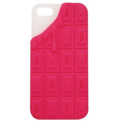 iPhone SE/5s/5 ケース モビモア iPhone5専用 チョコレートシリコンケース ミックスベリーチョコレート_0