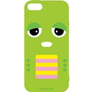 iPhone SE/5s/5 ケース ガチャピン×ムック iPhone5専用 ソフトジャケット ガチャピン