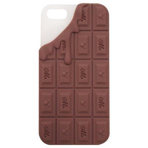 モビモア iPhone5専用 チョコレートシリコンケース チョコレート
