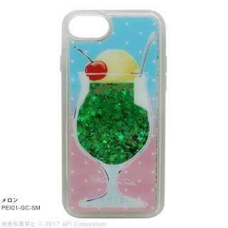 [2018新生活応援特価]EYLE Glitter Case クリームソーダ メロン iPhone 8/7/6s/6