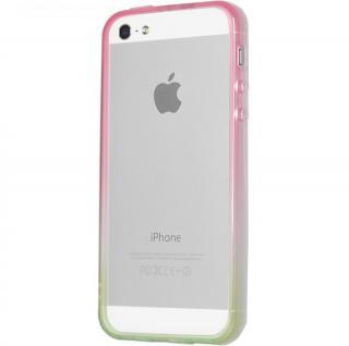 グラデーションが美しい 染 iPhone SE/5s/5 バンパー BUMPER 桜