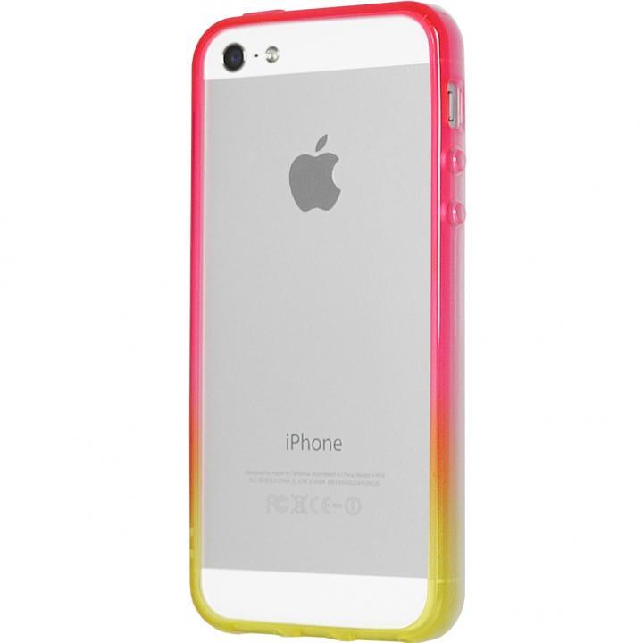 iPhone SE/5s/5 ケース グラデーションが美しい 染 iPhone SE/5s/5 バンパー BUMPER 蘭_0