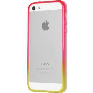グラデーションが美しい 染 iPhone SE/5s/5 バンパー BUMPER 蘭
