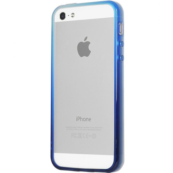 iPhone SE/5s/5 ケース グラデーションが美しい 染 iPhone SE/5s/5 バンパー BUMPER 湖_0