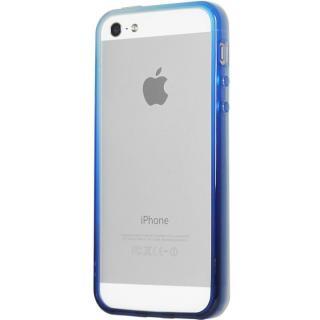 グラデーションが美しい 染 iPhone SE/5s/5 バンパー BUMPER 湖