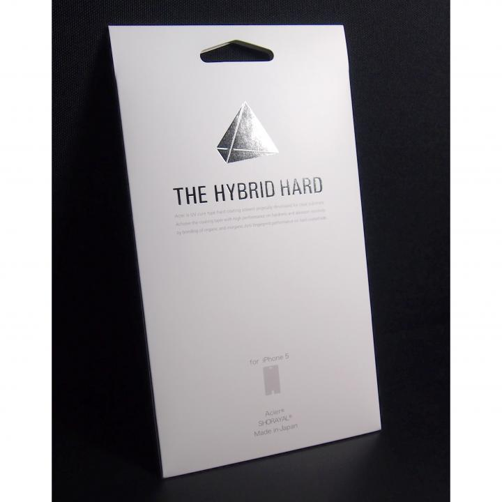THE HYBRID HARD  iPhone 5 液晶保護フィルム