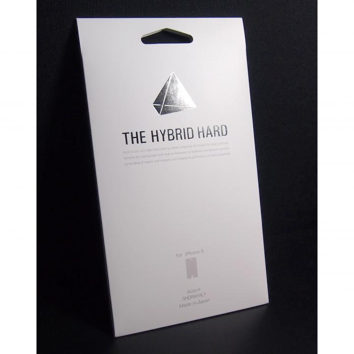 THE HYBRID HARD  iPhone 5 液晶保護フィルム