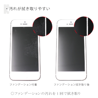 【iPhone SE/5s/5フィルム】THE HYBRID HARD  iPhone 5 液晶保護フィルム_2