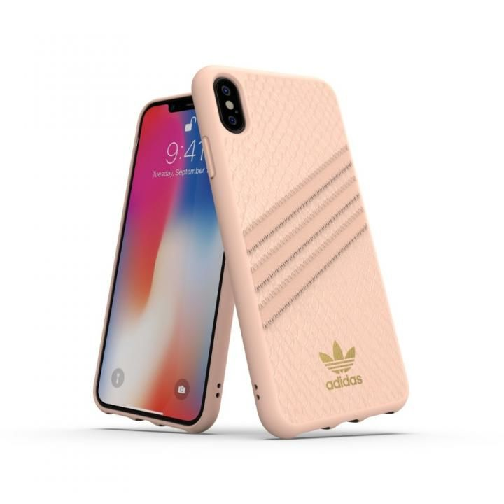 iPhone XS Max ケース adidas OR Moulded Case SAMBA WOMAN ピンク iPhone XS Max_0