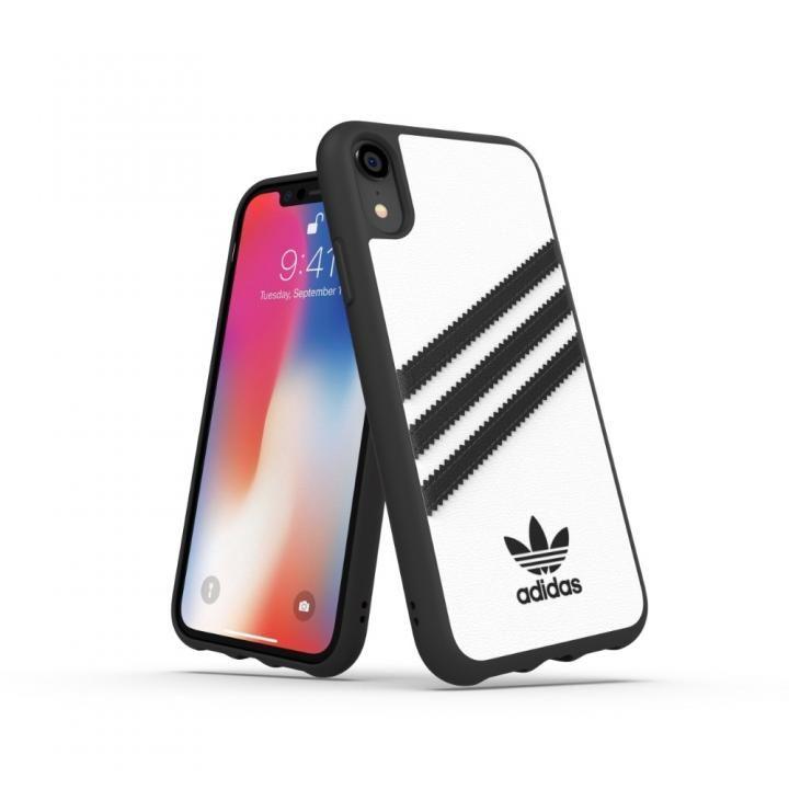 iPhone XR ケース adidas OR Moulded Case SAMBA ホワイト/ブラック iPhone XR_0
