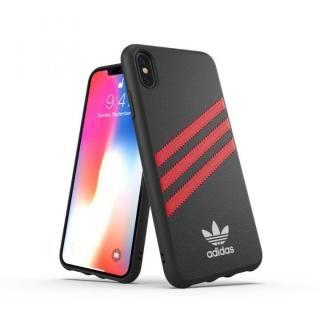 【iPhone XS Maxケース】adidas OR Moulded Case SAMBA ブラック/レッド iPhone XS Max