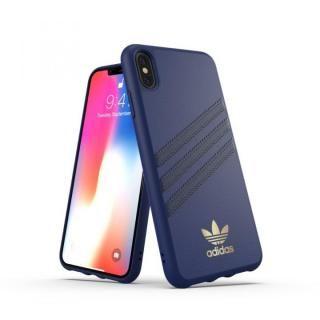 【iPhone XS Maxケース】adidas OR Moulded Case SAMBA ブルー iPhone XS Max【12月下旬】