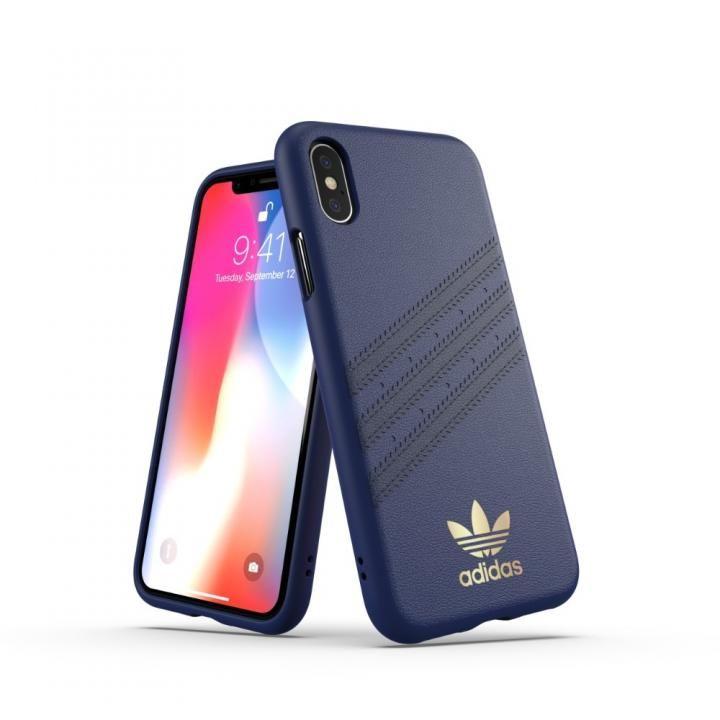 iPhone XS/X ケース adidas OR Moulded Case SAMBA ブルー iPhone XS/X_0