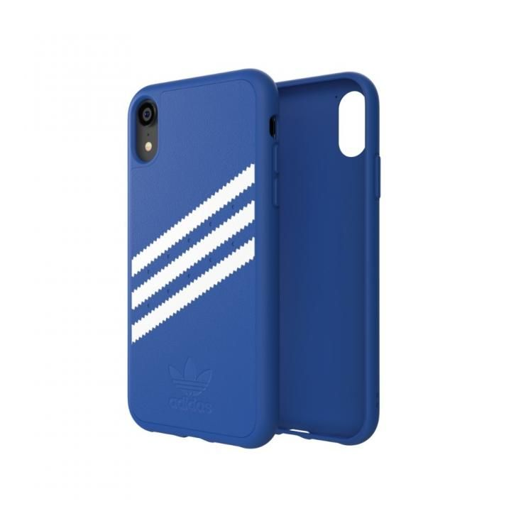 iPhone XR ケース adidas OR Moulded Case Collegiate ロイヤル/ホワイト iPhone XR_0