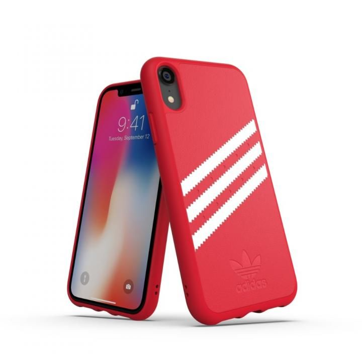 iPhone XR ケース adidas OR Moulded Case ロイヤルレッド/ホワイト iPhone XR_0