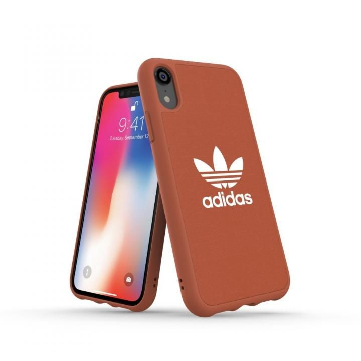iPhone XR ケース adidas OR Adicolor Originals Moulded Case Shift オレンジ iPhone XR_0