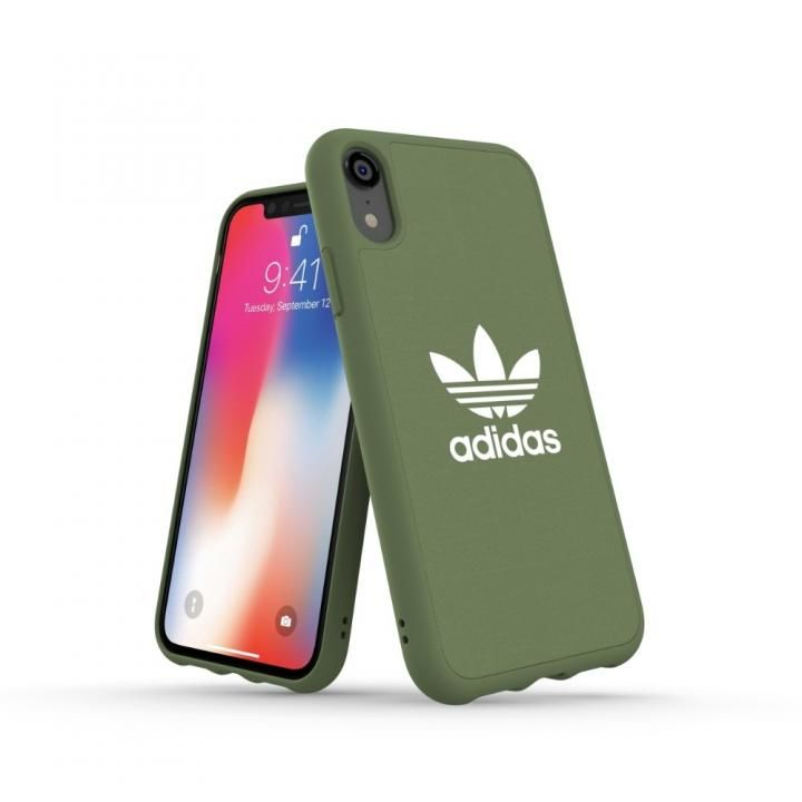 iPhone XR ケース adidas OR Adicolor Originals Moulded Case グリーン iPhone XR_0