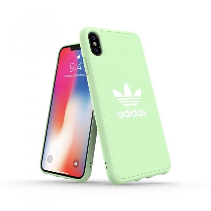 iPhone XS Max ケース adidas OR Adicolor Originals Moulded Case クリアミント iPhone XS Max_0