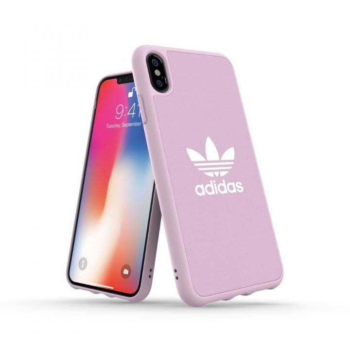 iPhone XS Max ケース adidas OR Adicolor Originals Moulded Case クリアピンク iPhone XS Max_0