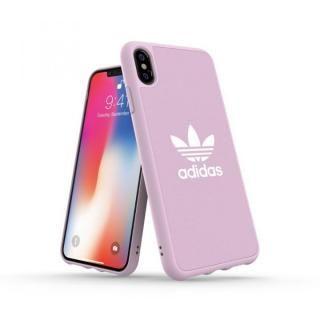 【iPhone XS Maxケース】adidas OR Adicolor Originals Moulded Case クリアピンク iPhone XS Max