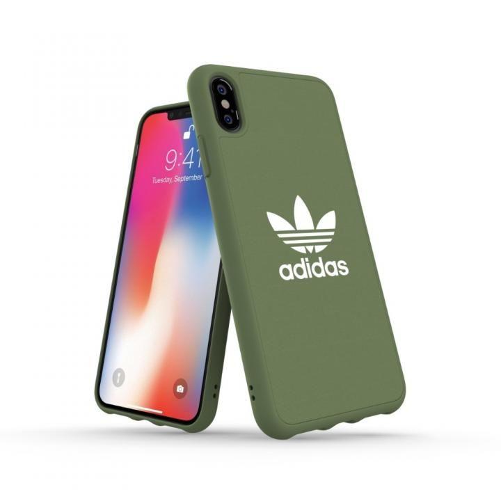 iPhone XS Max ケース adidas OR Adicolor Originals Moulded Case グリーン iPhone XS Max_0