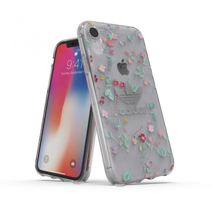 iPhone XR ケース adidas OR Clear Case Graphic AOP カラフル iPhone XR_0