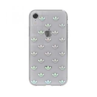 【iPhone XRケース】adidas OR Clear Case Trefoils カラフルロゴ iPhone XR_1