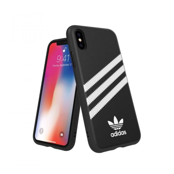 iPhone XS/X ケース adidas Originals Moulded Case SAMBA ブラック/ホワイト iPhone XS/X_0