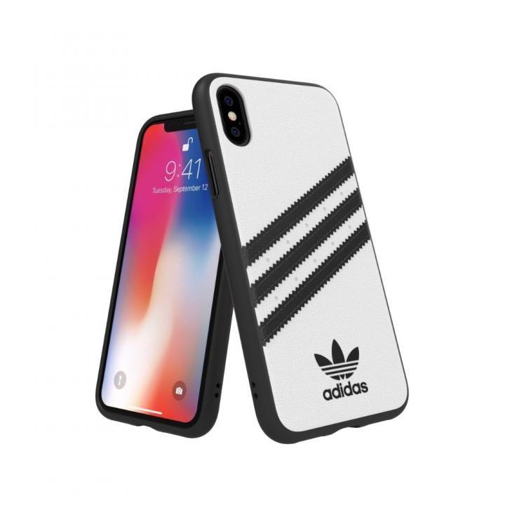 iPhone XS/X ケース adidas Originals Moulded Case SAMBA ホワイト/ブラック iPhone XS/X_0