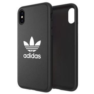 【iPhone XS/Xケース】adidas Originals TPU Moulded Case BASIC ブラック/ホワイト iPhone XS/X_1