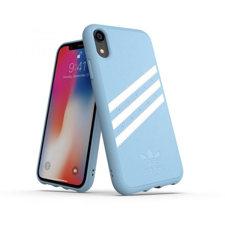 iPhone XR ケース adidas OR Moulded Case GAZELLE ブルー iPhone XR_0
