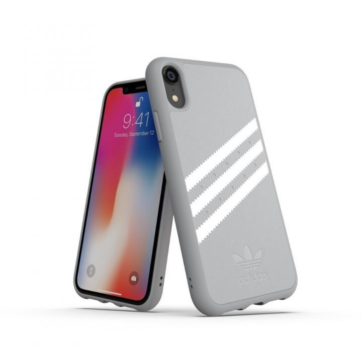 iPhone XR ケース adidas OR Moulded Case GAZELLE グレイ iPhone XR_0