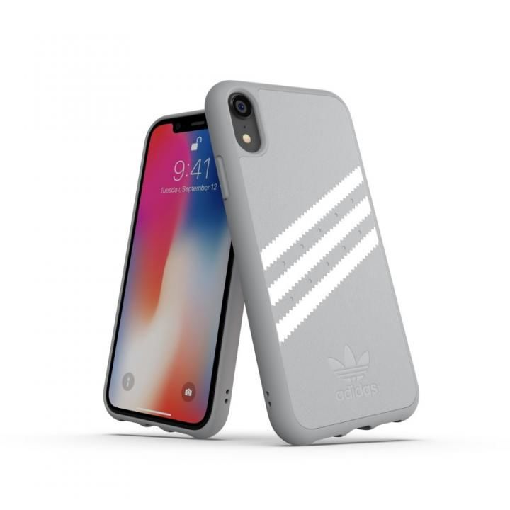 iPhone XR ケース adidas OR Moulded Case GAZELLE グレイ iPhone XR_0