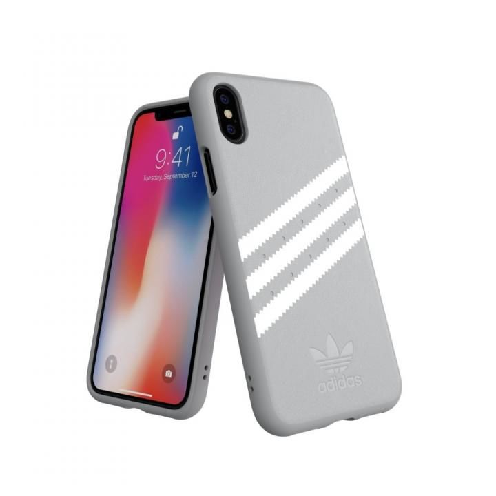 iPhone XS/X ケース adidas OR Moulded Case GAZELLE グレイ iPhone XS/X_0
